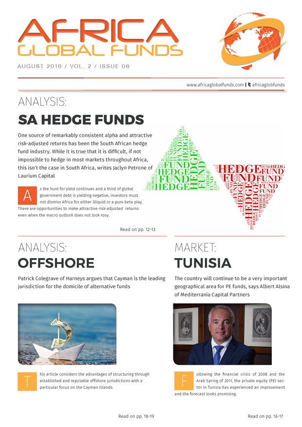 Africa Global Funds magazine: August 2016 issue