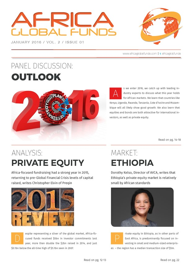 Africa Global Funds magazine: January 2016 issue free download