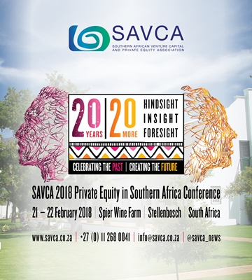 SAVCA 2018 Private Equity In Southern Africa Conference