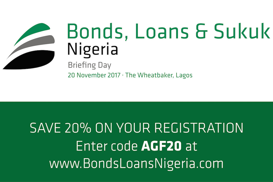 <p>Bonds, Loans & Sukuk Nigeria is the first and only gathering of borrowers, bankers, investors and advisors to discuss accessing debt capital in the international and local bond and loan markets. Get clarity on today's market dynamics from expert speakers and adjust your capital market strategy in 2017.</p>