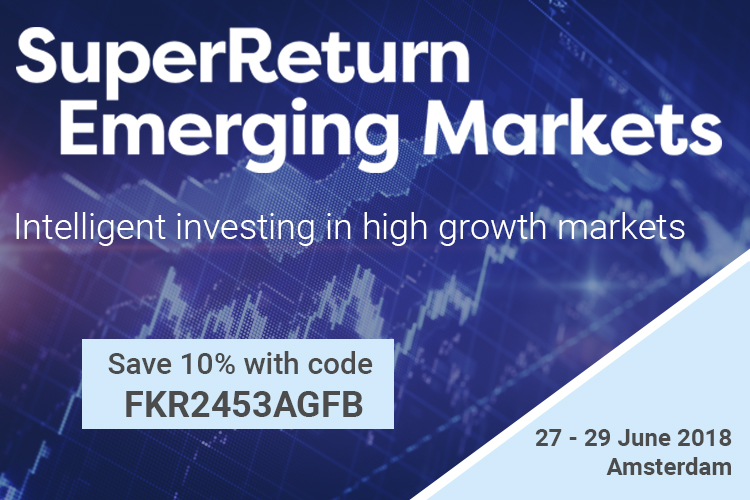 "<p><strong>Intelligent investing in high growth markets.</strong></p>  <p><strong>27 June - 29 June 2018 Hotel Okura, Amsterdam</strong></p>  <p><strong>10% Discount – VIP code: FKR2453AGFL</strong></p>  <p><a href=""https://finance.knect365.com/superreturn-emerging-markets/?vip_code=FKR2453AGFL&utm_source=Africa%20Global%20Funds&utm_medium=Web&utm_campaign=FKR2453%20-%20Africa%20Global%20Funds%20listing%2010%25&utm_content=FKR2453AGFL&tracker_id=FKR2453AGFL"">Visit website</a></p>  <p>Here's 5 reasons why SuperReturn Emerging Markets is Europe's #1 forum for uniting private equity investors in emerging economies.</p>  <ol> 	<li> 	<p><strong>An insight on the hottest markets</strong> – Russia, Turkey and CEE all have dedicated sessions this year</p> 	</li> 	<li> 	<p><strong>Unmatched networking opportunities.</strong> 120+ LPs and 120+ GPs from over 35 countries.</p> 	</li> 	<li> 	<p><strong>A fresh approach to our summit days</strong>. A split focus on Latin America and Africa features alongside our Fundraising Summit.</p> 	</li> 	<li> 	<p><strong>A bigger tech focus with dedicated sessions on the impact of tech disruption on growth markets</strong></p> 	</li> 	<li> 	<p><strong>Showcases</strong>: get inspired by our private equity regional face-off and our dedicated 'markets to watch' sessions</p> 	</li> </ol>"