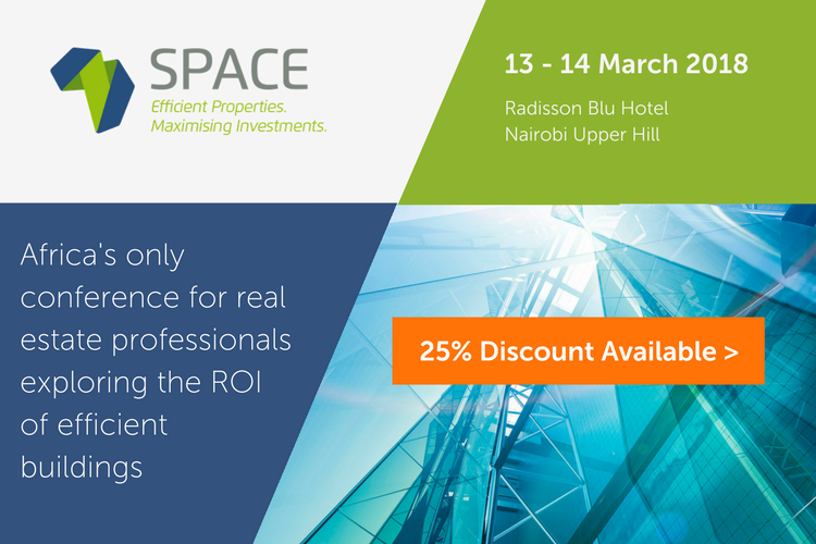 "<p>SpaceConference is Africa's only conference for real estate professionals exploring the ROI of efficient buildings. Find out more at <a href=""http://www.event.benchevents.com/space17_africaglobalfunds"" target=""_blank"">www.space-conference.com</a>.</p>"