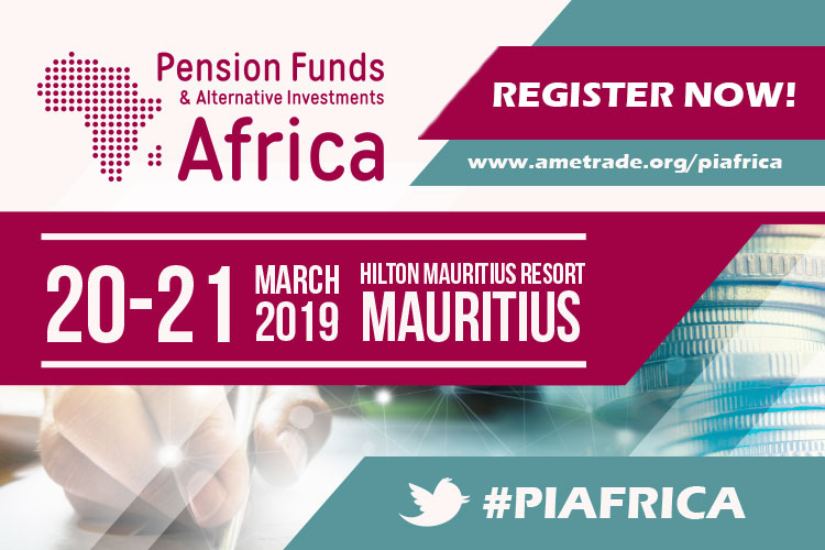 "<p dir=""ltr"">AMETrade Ltd is delighted to organise the 3rd edition of Pension Funds and Alternative Investments Africa Conference.  The International event returns to Mauritius on the 20 and 21 March 2019 moving to a new location – The Hilton Mauritius Resort.</p>  <p dir=""ltr"">Pension Funds and Alternative Investments Africa is a global conference dedicated to the facilitation of discussion and advancement with leading pension funds, fund managers, asset managers and regulatory and administration heads. It is an annual showcase of the leading experts that come together to enhance and shape asset allocation, risk management, equity, real assets and risk management and analysis.</p>  <p dir=""ltr"">For more information, visit: <a href=""http://www.ametrade.org/piafrica?utm_source=AfricaGlobalFunds&utm_medium=onlinebanners&utm_campaign=PIAfrica19"">Piafrica website</a></p>  <p>#Piafrica</p>"